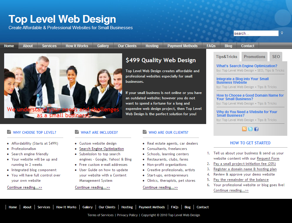 best website design companies for small business